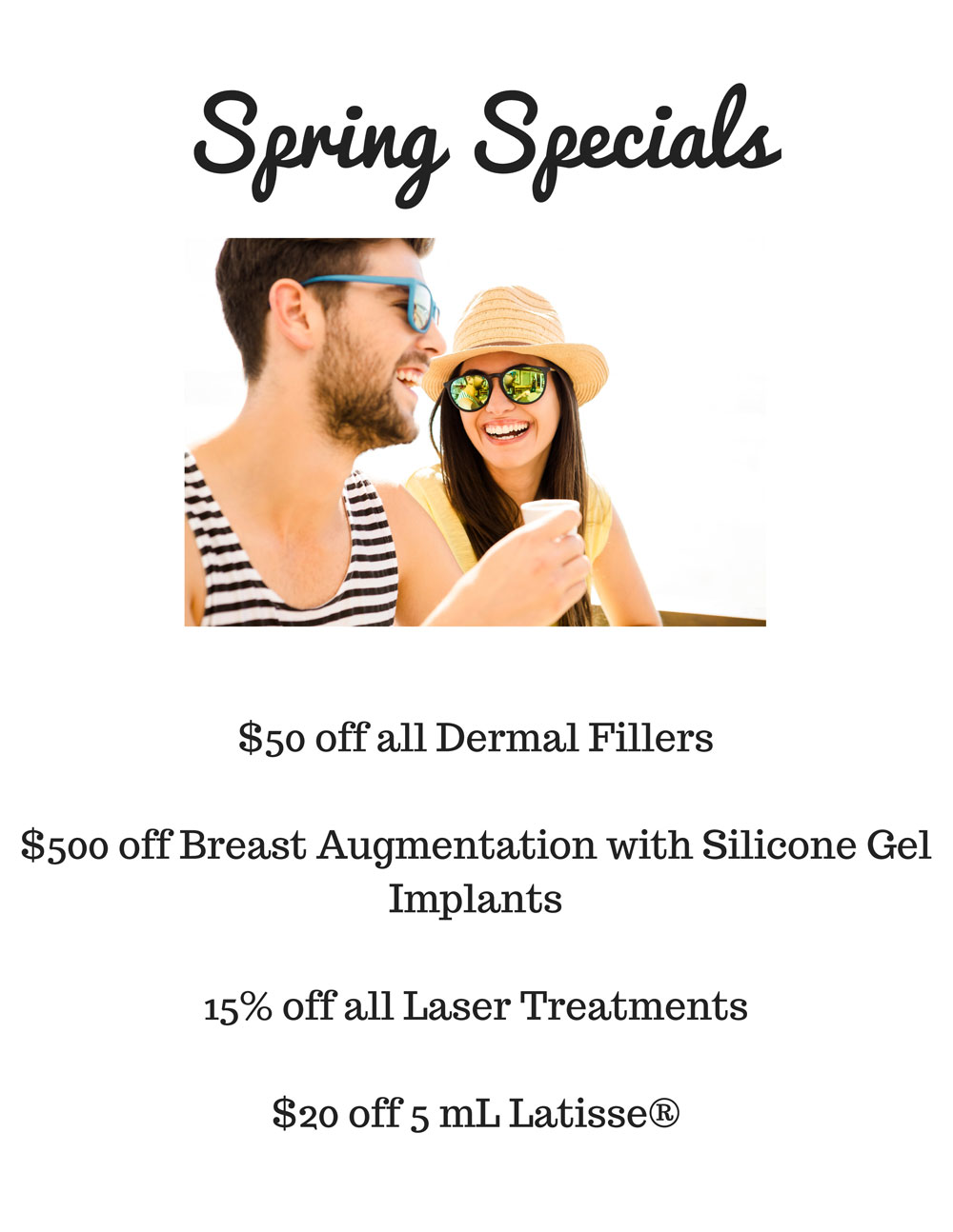 Spring-Specials